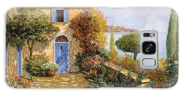 Door Galaxy Case - Ombre Sul Terrazzo by Guido Borelli