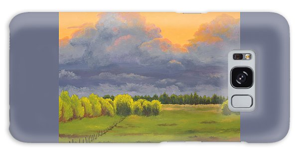 Ominous Forecast Galaxy Case by Nancy Jolley