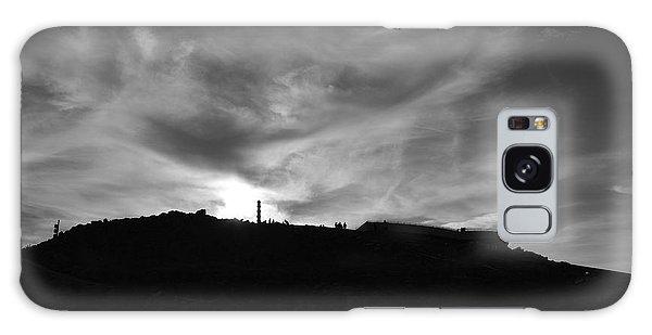 Ominous Sky Over Mt. Washington Galaxy Case
