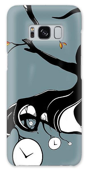 On A Limb Galaxy Case