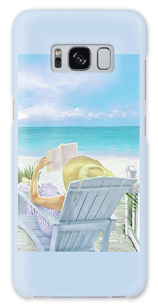 On Beach Time Galaxy Case
