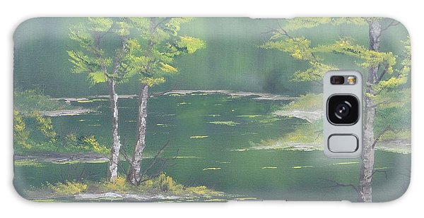 On Emerald Pond Galaxy Case
