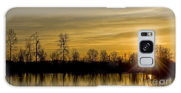 On Golden Pond Galaxy Case by Nick  Boren