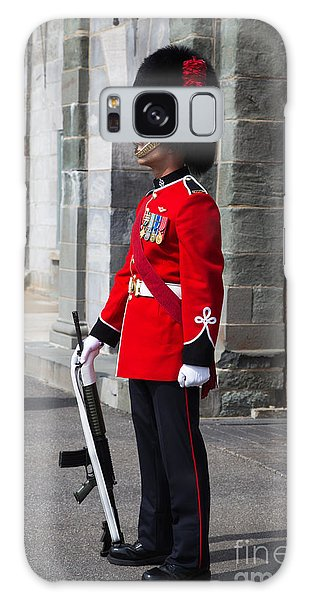 Quebec City Galaxy Case - On Guard Quebec City by Edward Fielding