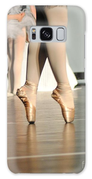 On Her Toes Galaxy Case