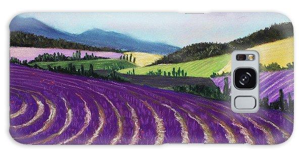 On Lavender Trail Galaxy Case