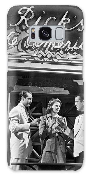 On The Casablanca Set Galaxy Case