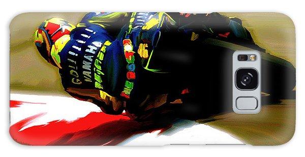 On The Edge Vi Valentino Rossi Galaxy Case
