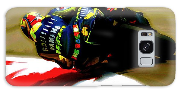 On The Edge Vi Valentino Rossi Galaxy Case