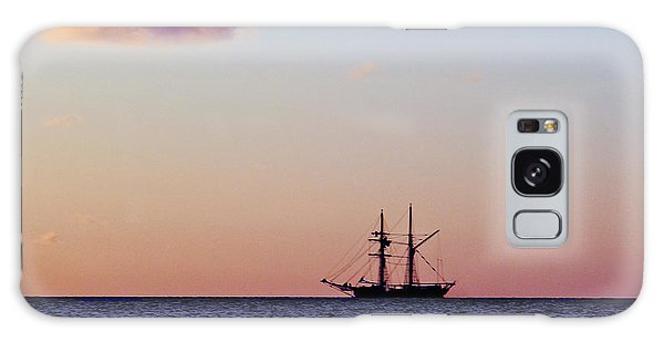 Galaxy Case featuring the photograph On The Horizon by Debbie Cundy