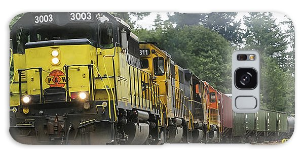 On The Rails Galaxy Case
