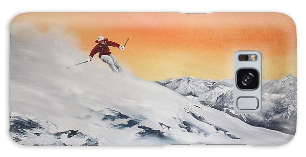 On The Slopes Galaxy Case by Jean Walker