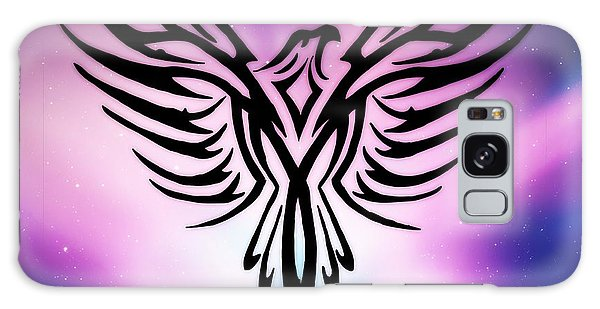 On The Wings Of Eagles Galaxy Case by Mindy Bench