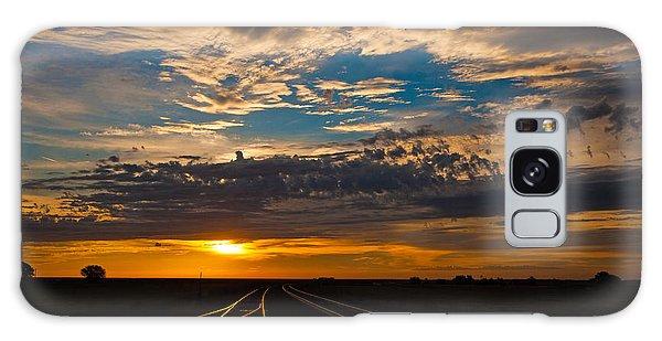 On Track Galaxy Case by Shirley Heier