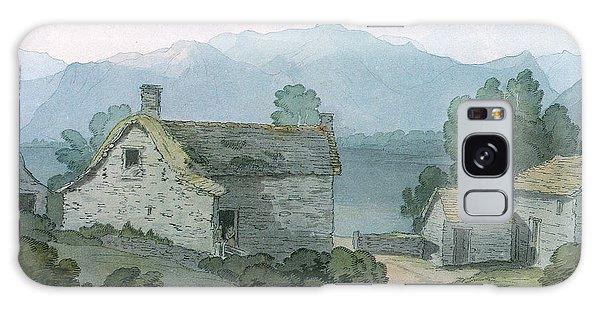 Cottage Galaxy Case - On Ullswater, Cumberland, 1791 Wc On Paper by John White Abbott