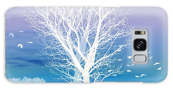 Tree Galaxy Case - Once Upon A Moon Lit Night... by Holly Kempe