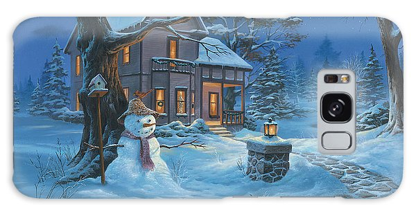 Once Upon A Winter's Night Galaxy Case