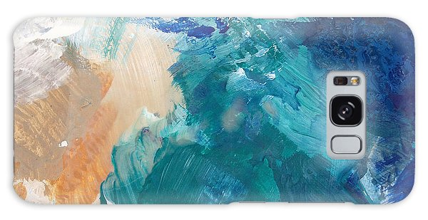 Iphone Case Galaxy Case - On A Summer Breeze- Contemporary Abstract Art by Linda Woods