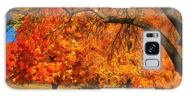 One Autumn Day Galaxy Case