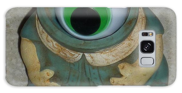 One Eyed Doll Galaxy Case by Douglas Fromm