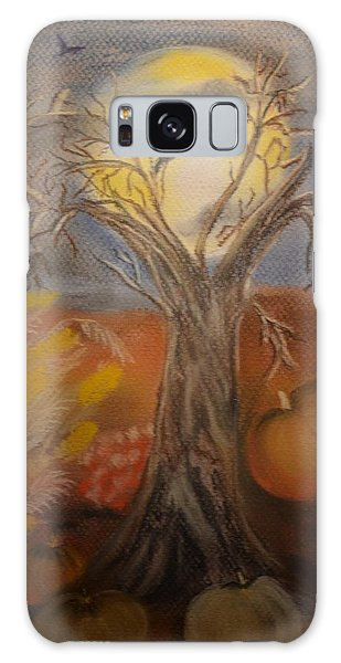 One Hallowed Eve Galaxy Case by Maria Urso