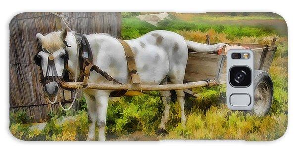 One Horse Wagon Galaxy Case