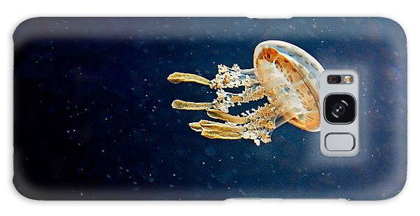 One Jelly Fish Art Prints Galaxy Case by Valerie Garner
