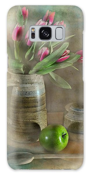 Vase Of Flowers Galaxy Case - One Less by Diana Angstadt