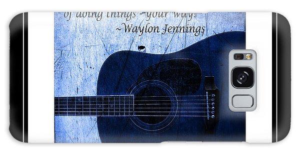 One More Way - Waylon Jennings Galaxy Case