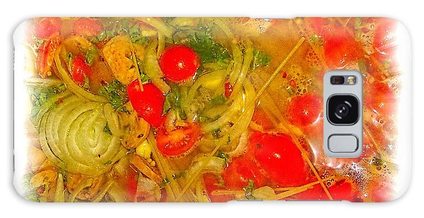 One Pan Pasta Cooking Galaxy Case by Constantine Gregory