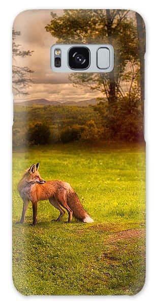 Sly Galaxy Case - One Red Fox by Bob Orsillo