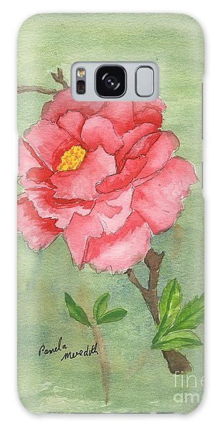 One Rose Galaxy Case by Pamela  Meredith