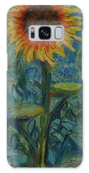 One Sunflower - Sold Galaxy Case