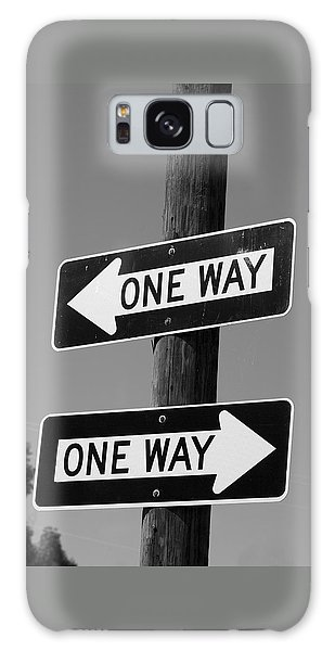 One Way Or Another - Confusing Road Signs Galaxy Case