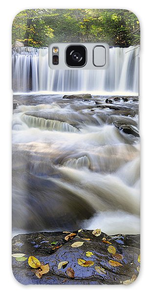 Oneida Falls  Galaxy Case by Dan Myers