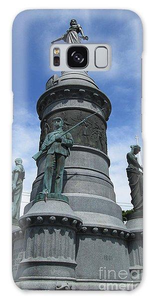 Oneida Square Civil War Monument Galaxy Case by Peter Gumaer Ogden