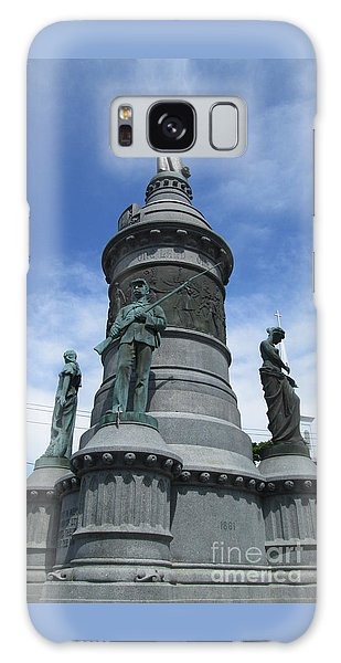 Oneida Square Civil War Monument Galaxy Case by Peter Gumaer Ogden