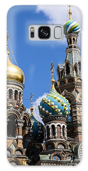 Onion Domes Church Of Spilled Blood Galaxy Case