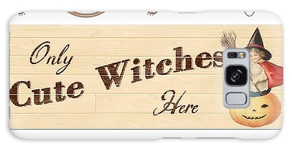 Holiday Galaxy Case - Only Cute Witches Here #ontheblog by Teresa Mucha
