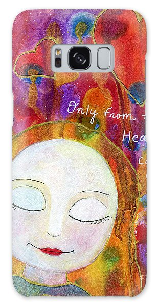 Only From The Heart Galaxy Case