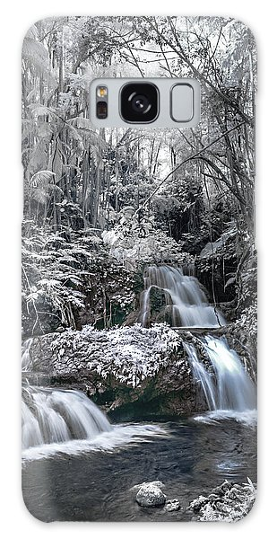 Onomea Falls In Infrared 2 Galaxy Case