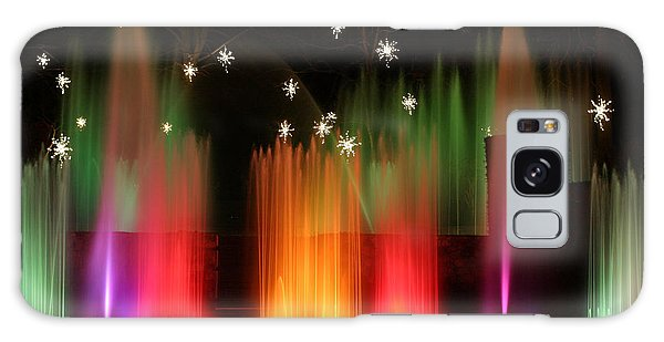 Open Air Theatre Rainbow Fountain Galaxy Case by Living Color Photography Lorraine Lynch