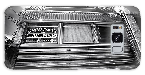 Open Daily Breakfast And Lunch Galaxy Case