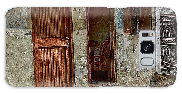 Open Door Galaxy Case by John Hoey