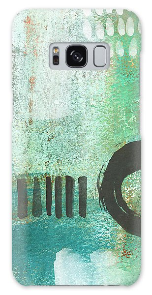Iphone Case Galaxy Case - Open Gate- Contemporary Abstract Painting by Linda Woods