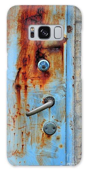 Open No More Galaxy Case by Randi Grace Nilsberg