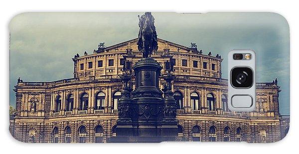 Opera House In Dresden Galaxy Case