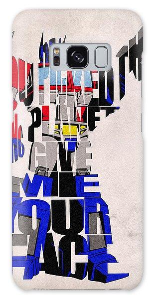 Optimus Prime Galaxy Case