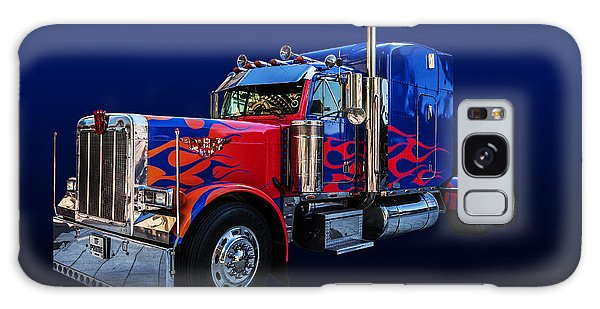 Optimus Prime Blue Galaxy Case