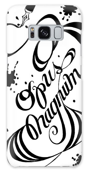 Opus Magnum Galaxy Case by Carol Jacobs